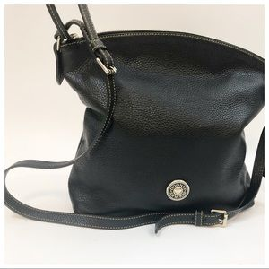 Dooney and Bourke Authentic Black Leather Bag
